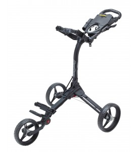 BagBoy Compact 3 Push Cart Black / Silver Color
