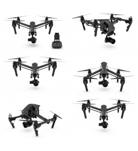 DJI Inspire 1 Pro Black Edtion w / Zenmuse X5 4K camera, single remote  Pre-order